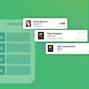 FreeAgent CRM, Preview Cards